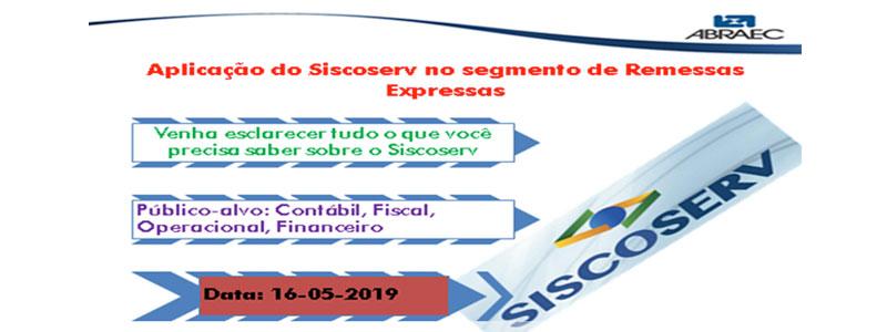 Curso - Siscoverv no Segmento de Remessas Expressas